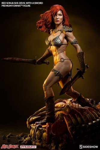 SIDESHOW RED SONJA